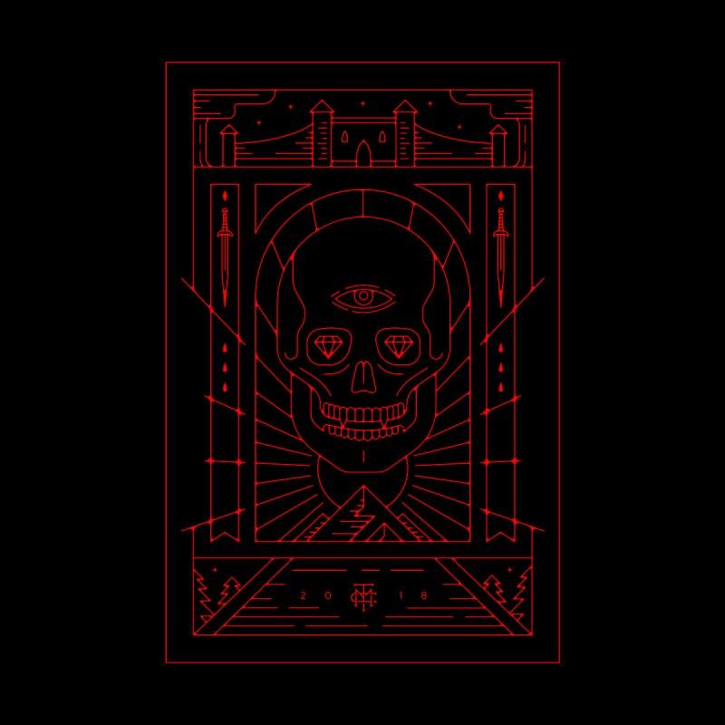 DEATH'S HEAD - RED by maxcoletakanikos's Artist Shop