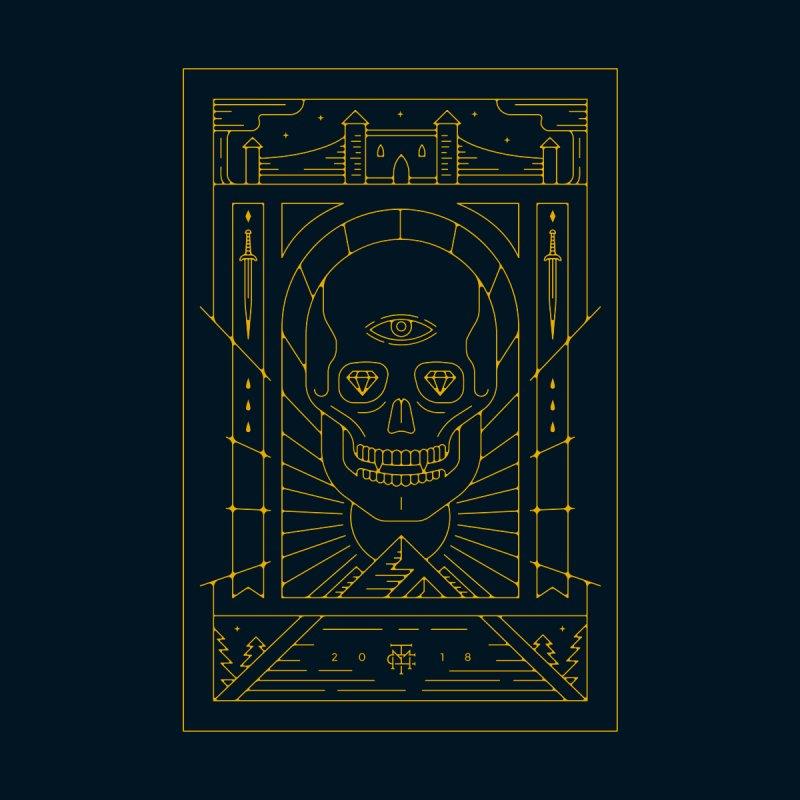 DEATH'S HEAD - GOLD by maxcoletakanikos's Artist Shop
