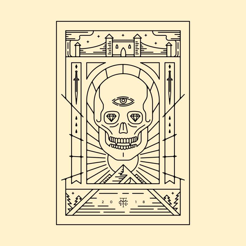 DEATH'S HEAD - BLACK by maxcoletakanikos's Artist Shop