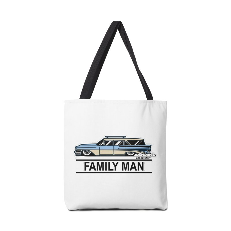 Family Man Accessories Tote Bag Bag by Max Grundy Design's Artist Shop