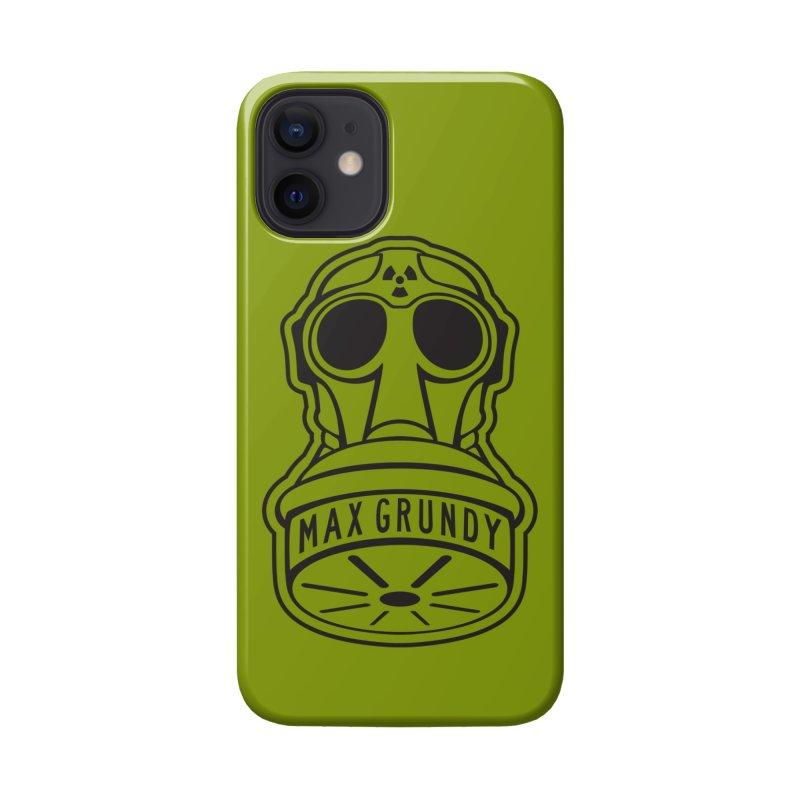 Gas Mask (Black) Accessories Phone Case by Max Grundy Design's Artist Shop