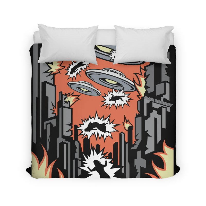 XENOPHOBIA Home Duvet by Max Grundy Design's Artist Shop