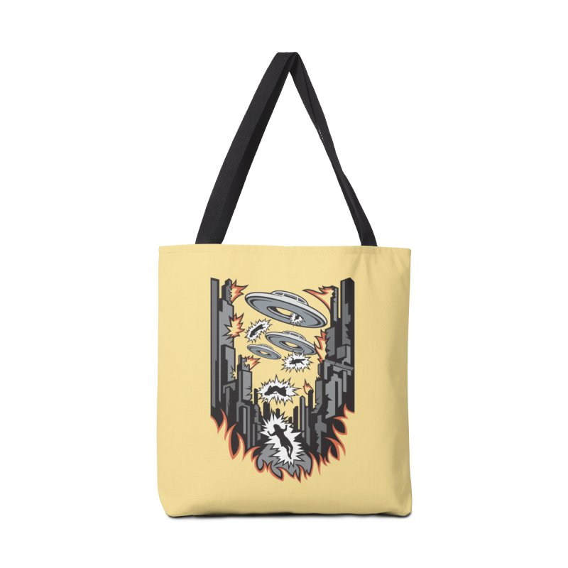 XENOPHOBIA Accessories Tote Bag Bag by Max Grundy Design's Artist Shop