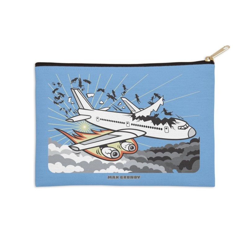 BASOPHOBIA Accessories Zip Pouch by Max Grundy Design's Artist Shop