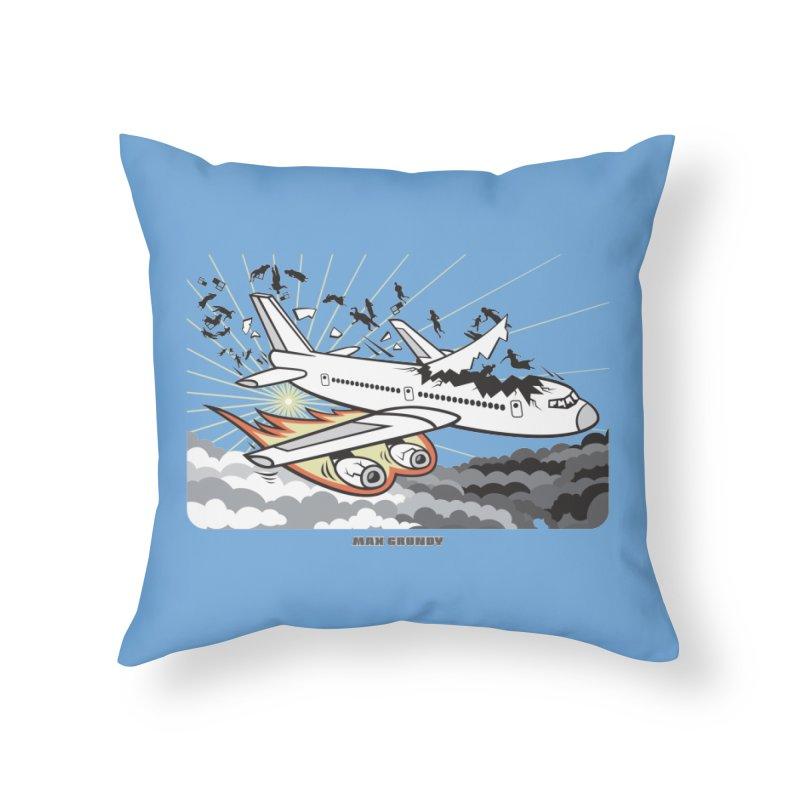 BASOPHOBIA Home Throw Pillow by Max Grundy Design's Artist Shop