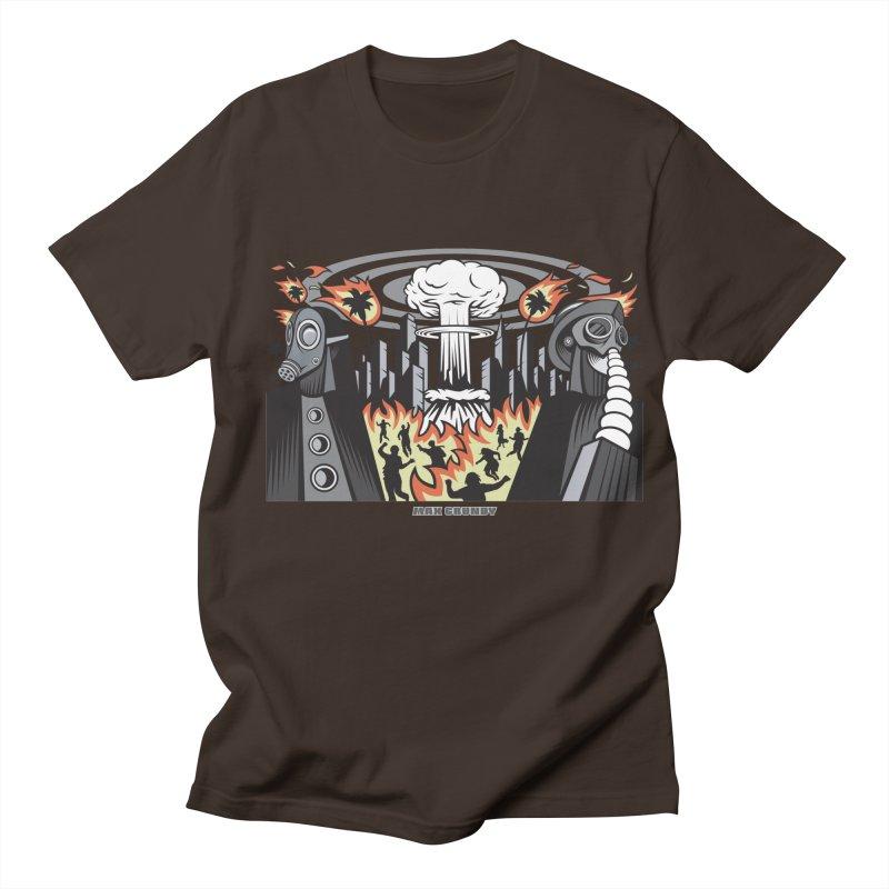 NUCLEOMITAPHOBIA Men's Regular T-Shirt by Max Grundy Design's Artist Shop