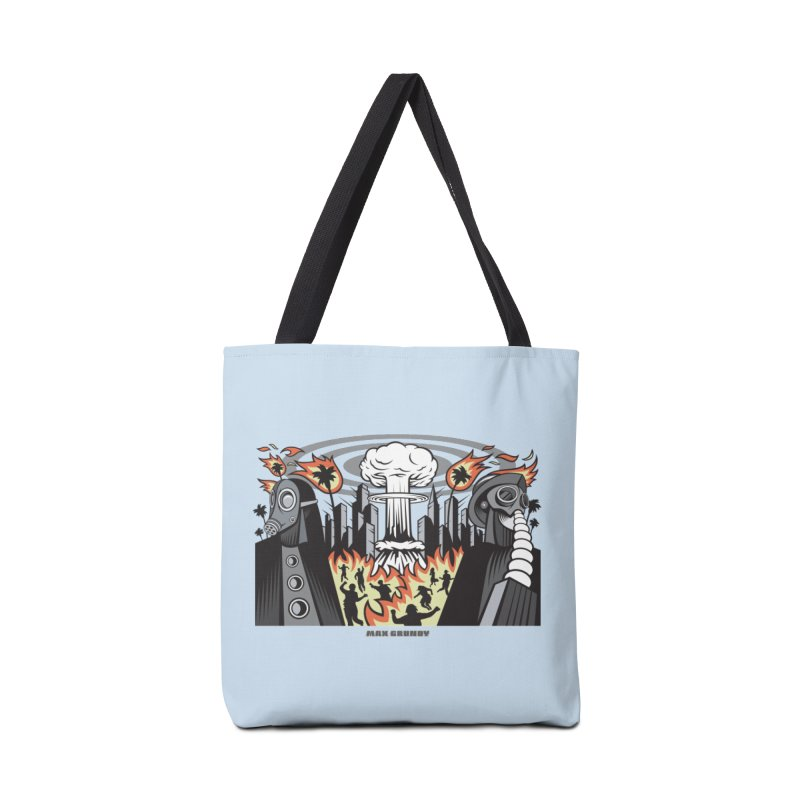 NUCLEOMITAPHOBIA Accessories Tote Bag Bag by Max Grundy Design's Artist Shop