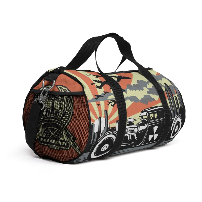 ATOMIC COUPE (orange) Accessories Bag by Max Grundy Design's Artist Shop