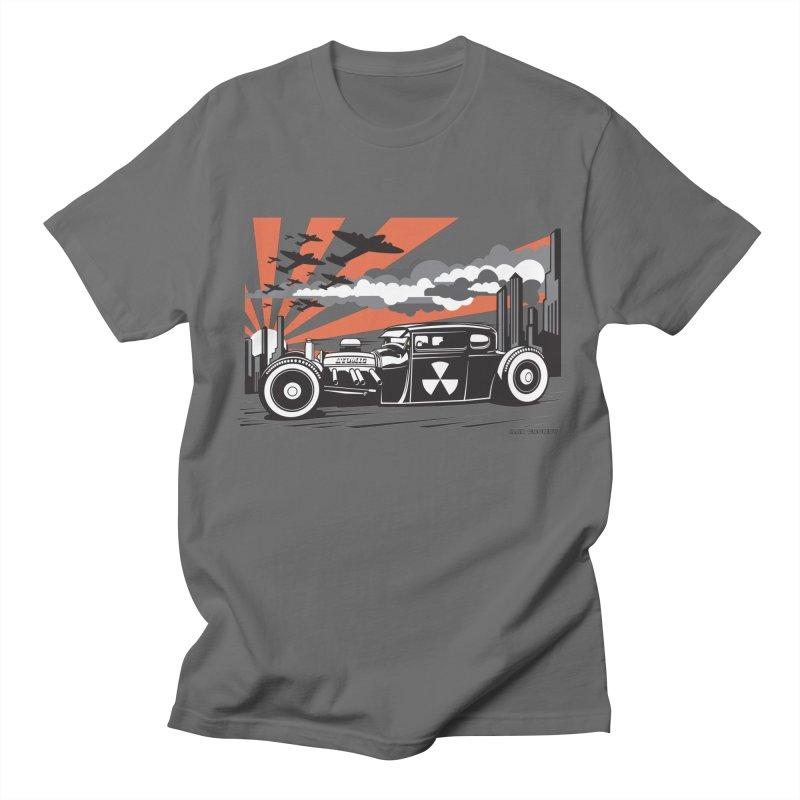 ATOMIC COUPE (orange) Men's T-Shirt by Max Grundy Design's Artist Shop