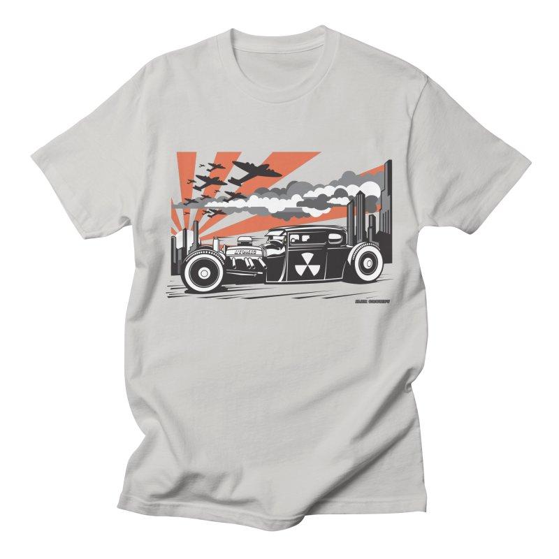 ATOMIC COUPE (orange) Men's Regular T-Shirt by Max Grundy Design's Artist Shop