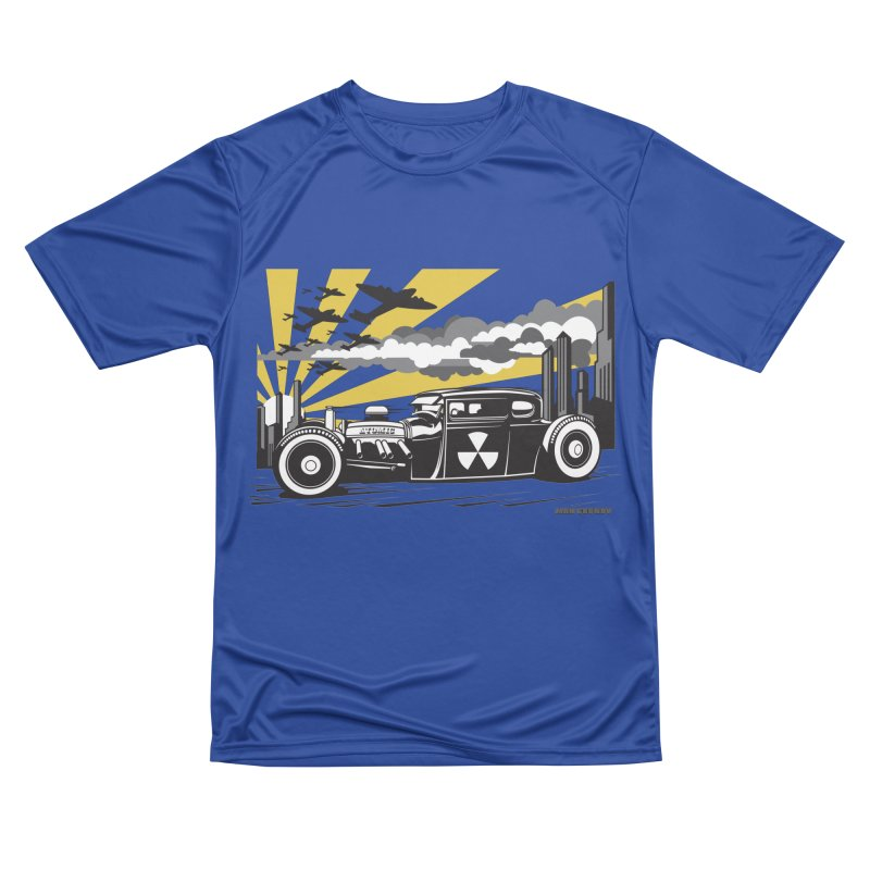 ATOMIC COUPE (yellow) Men's Performance T-Shirt by Max Grundy Design's Artist Shop