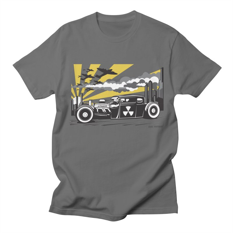 ATOMIC COUPE (yellow) Men's T-Shirt by Max Grundy Design's Artist Shop