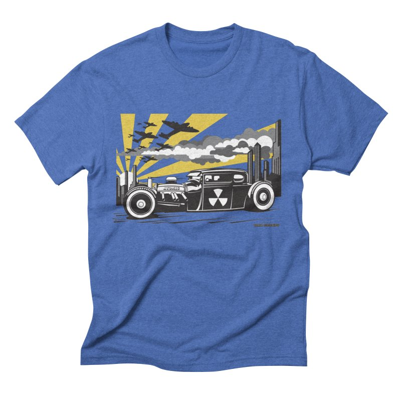 ATOMIC COUPE (yellow) Men's Triblend T-Shirt by Max Grundy Design's Artist Shop