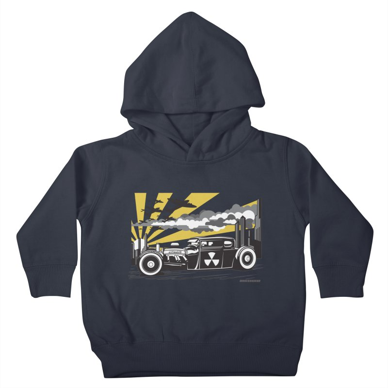ATOMIC COUPE (yellow) Kids Toddler Pullover Hoody by Max Grundy Design's Artist Shop