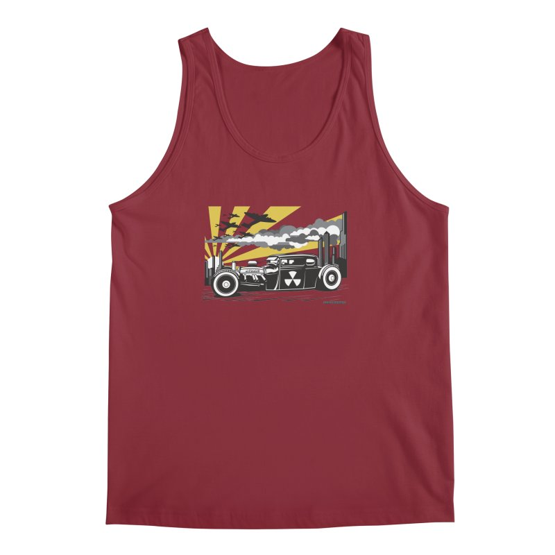 ATOMIC COUPE (yellow) Men's Regular Tank by Max Grundy Design's Artist Shop