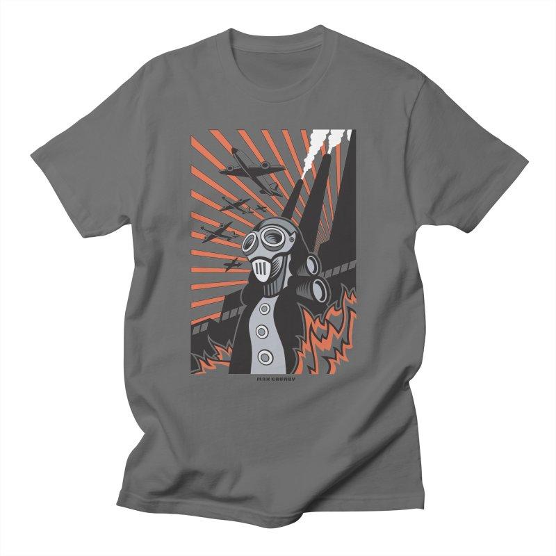 MECHANOPHOBIA Men's T-Shirt by Max Grundy Design's Artist Shop