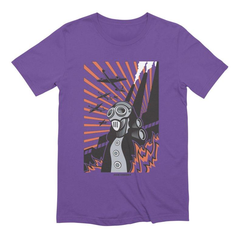 MECHANOPHOBIA Men's Extra Soft T-Shirt by Max Grundy Design's Artist Shop
