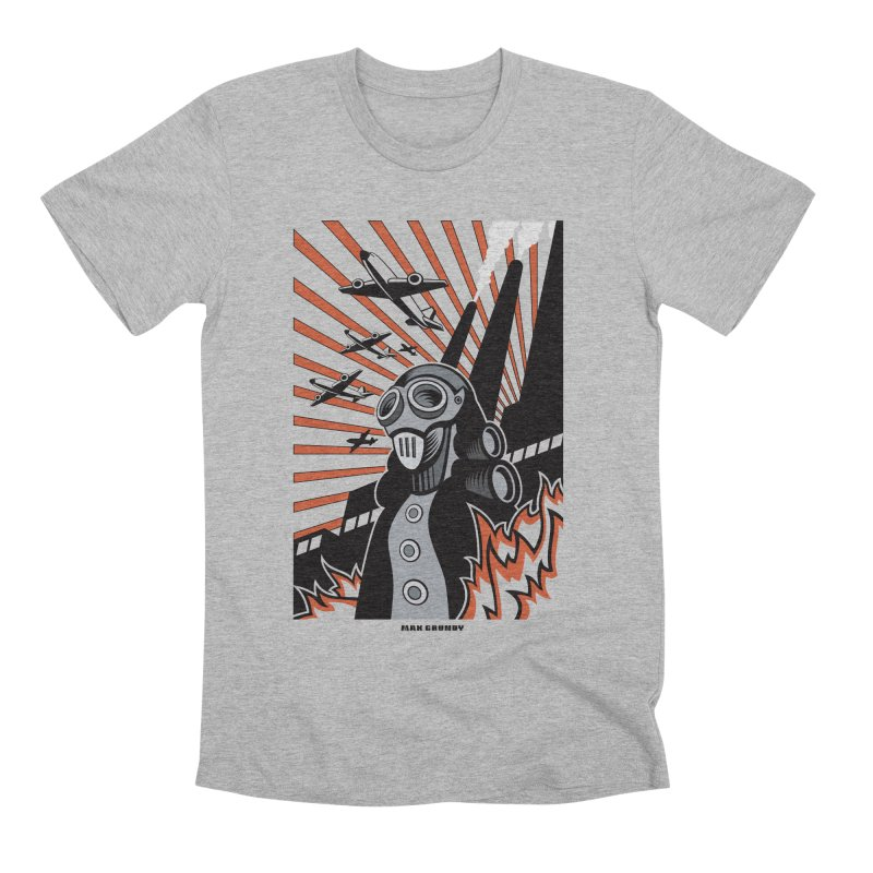 MECHANOPHOBIA Men's Premium T-Shirt by Max Grundy Design's Artist Shop
