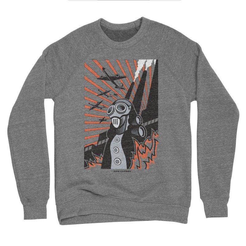 MECHANOPHOBIA Women's Sponge Fleece Sweatshirt by Max Grundy Design's Artist Shop