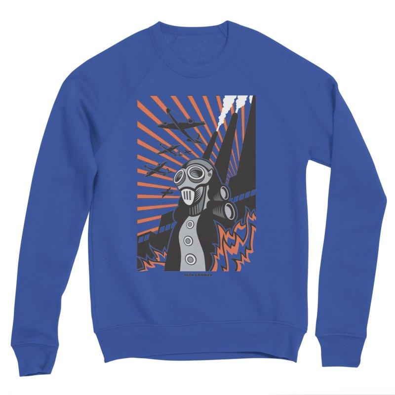 MECHANOPHOBIA Men's Sponge Fleece Sweatshirt by Max Grundy Design's Artist Shop