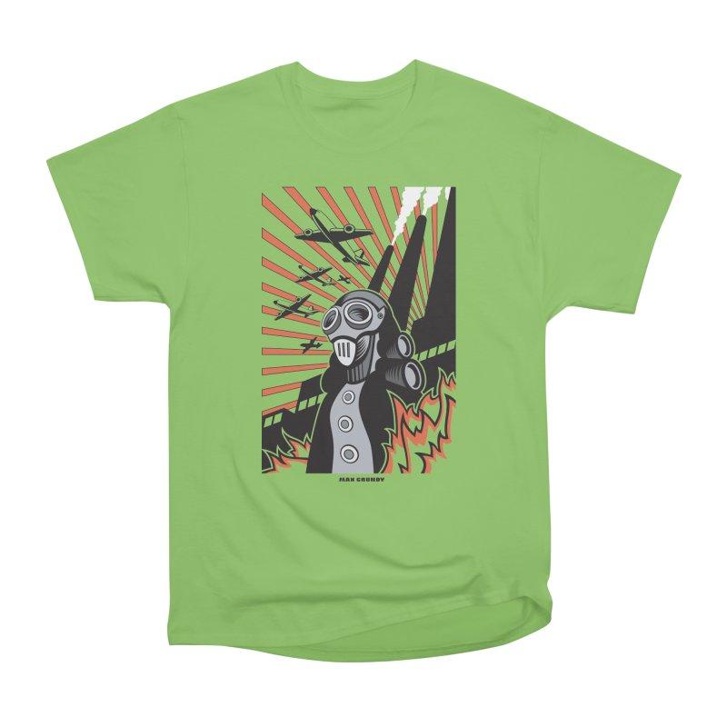 MECHANOPHOBIA Women's Heavyweight Unisex T-Shirt by Max Grundy Design's Artist Shop