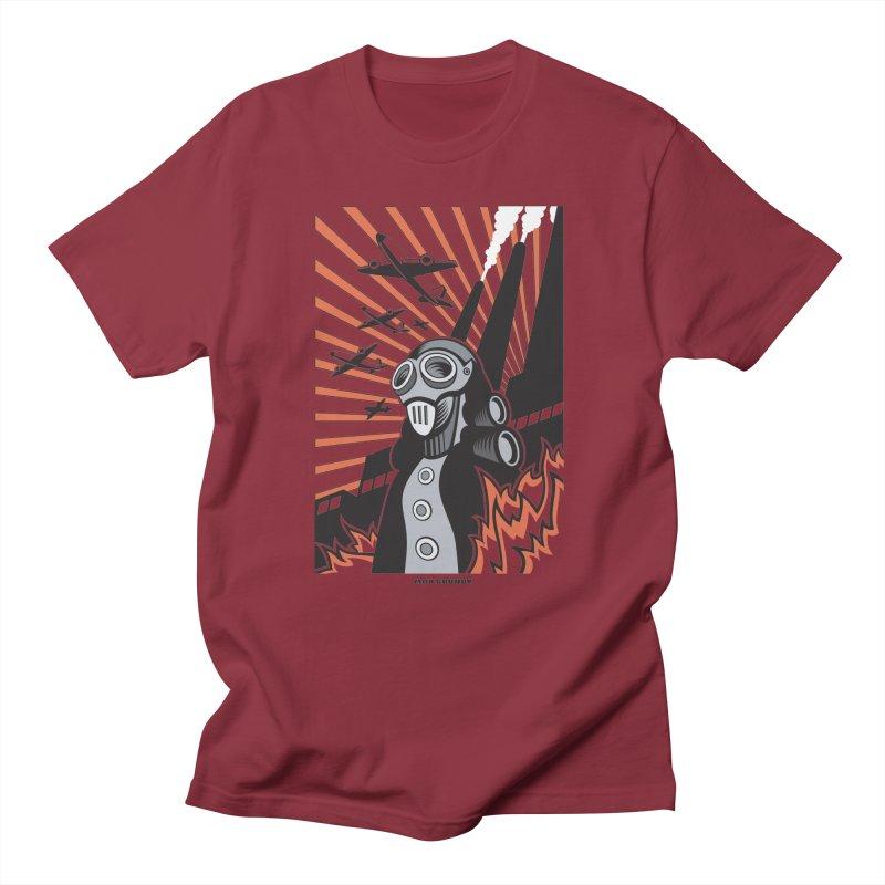 MECHANOPHOBIA Women's Regular Unisex T-Shirt by Max Grundy Design's Artist Shop