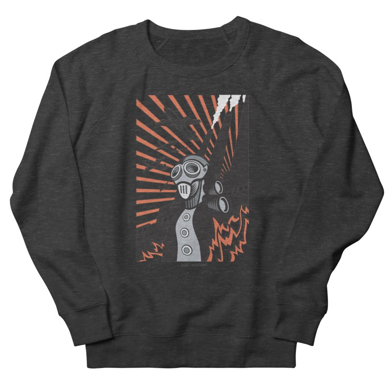 MECHANOPHOBIA Women's French Terry Sweatshirt by Max Grundy Design's Artist Shop