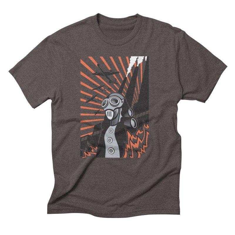 MECHANOPHOBIA Men's Triblend T-Shirt by Max Grundy Design's Artist Shop