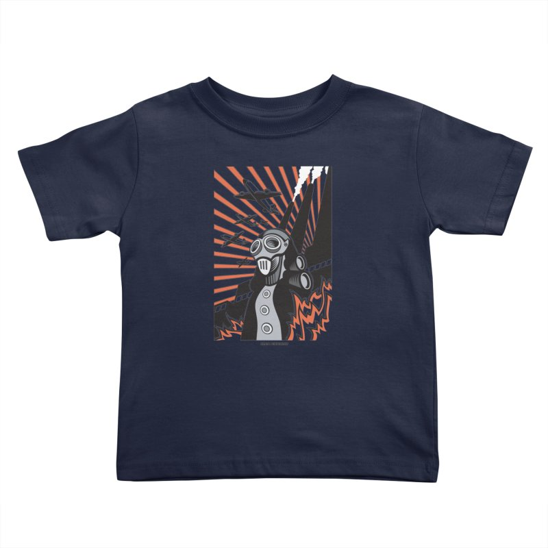 MECHANOPHOBIA Kids Toddler T-Shirt by Max Grundy Design's Artist Shop