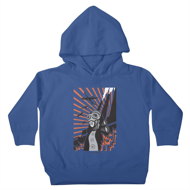 MECHANOPHOBIA Kids Toddler Pullover Hoody by Max Grundy Design's Artist Shop