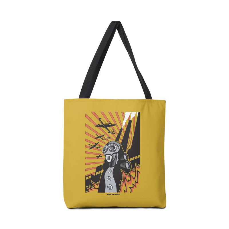 MECHANOPHOBIA Accessories Bag by Max Grundy Design's Artist Shop