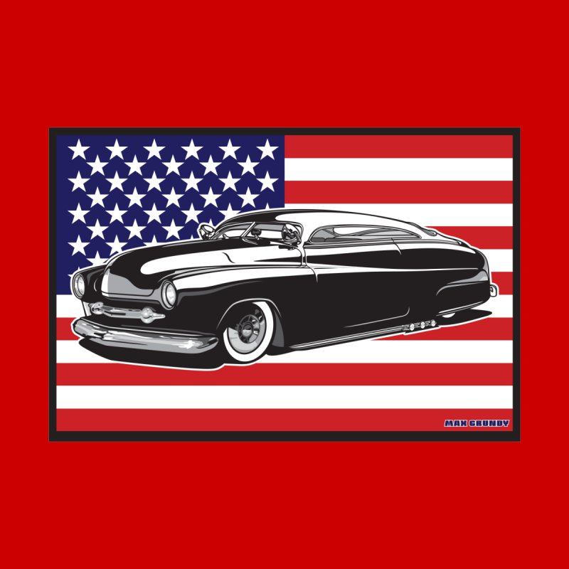 AMERICAN ORIGINAL Men's T-Shirt by Max Grundy Design's Artist Shop