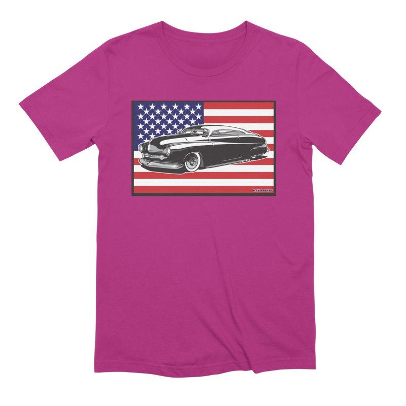 AMERICAN ORIGINAL Men's Extra Soft T-Shirt by Max Grundy Design's Artist Shop