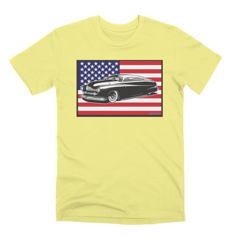 AMERICAN ORIGINAL Men's Premium T-Shirt by Max Grundy Design's Artist Shop