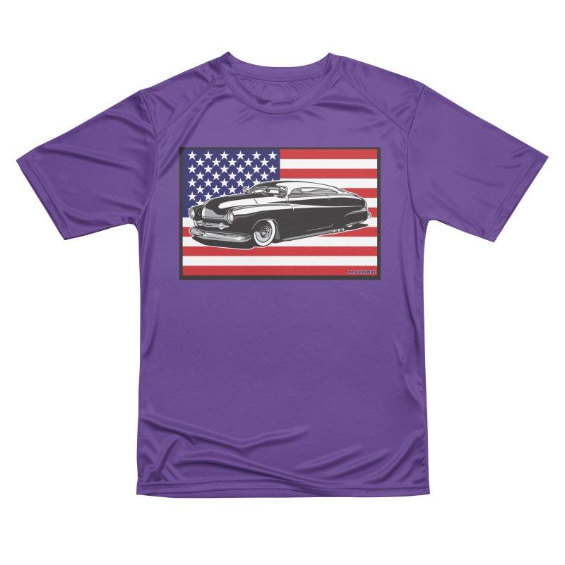 AMERICAN ORIGINAL Men's Performance T-Shirt by Max Grundy Design's Artist Shop