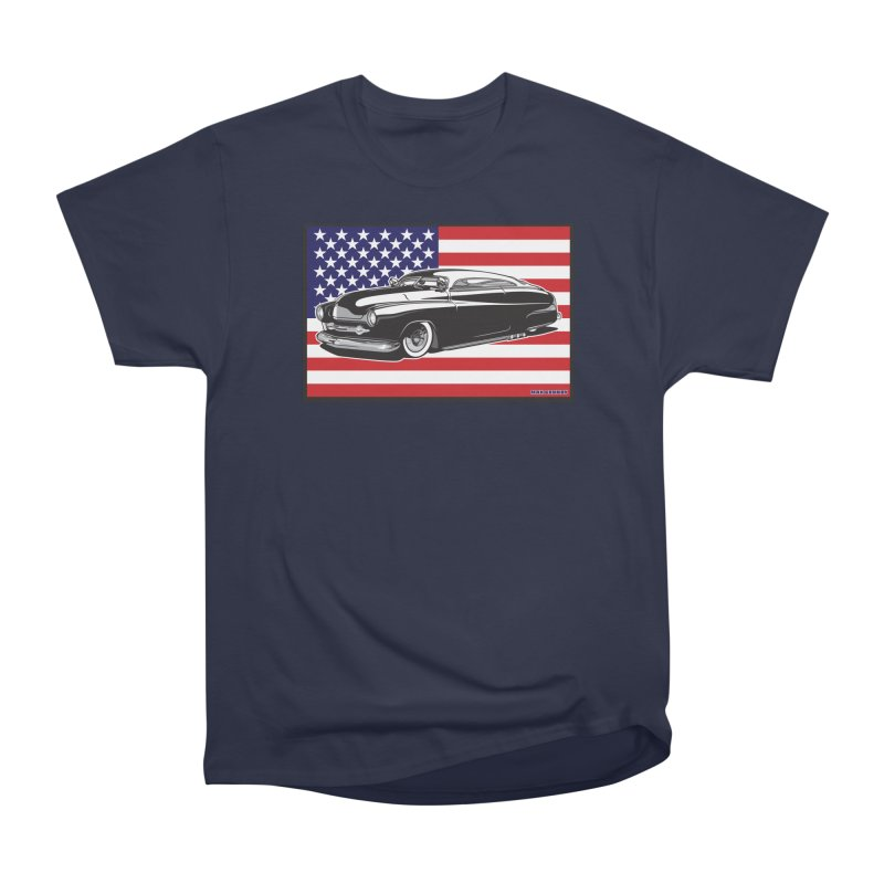 AMERICAN ORIGINAL Women's Heavyweight Unisex T-Shirt by Max Grundy Design's Artist Shop