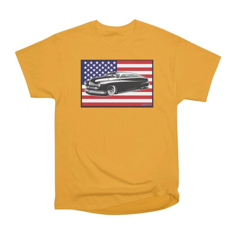 AMERICAN ORIGINAL Men's Heavyweight T-Shirt by Max Grundy Design's Artist Shop