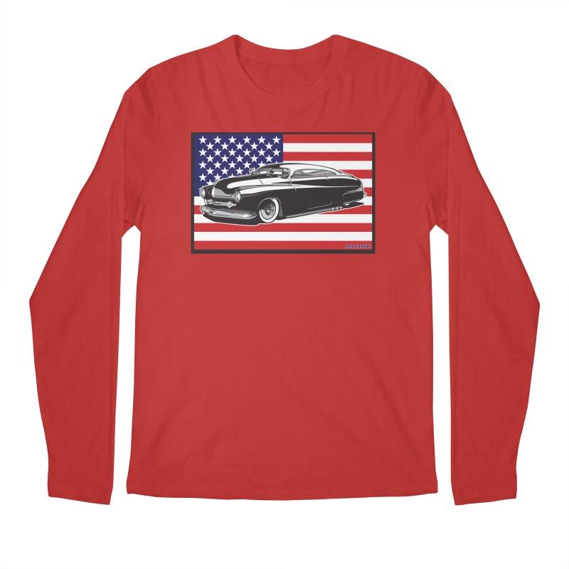 AMERICAN ORIGINAL Men's Regular Longsleeve T-Shirt by Max Grundy Design's Artist Shop