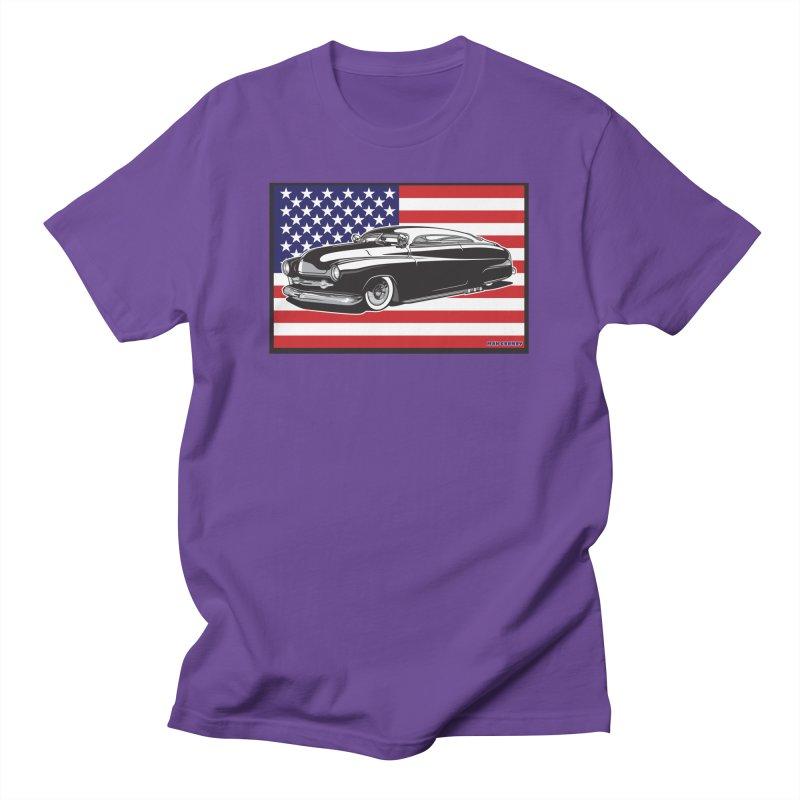 AMERICAN ORIGINAL Men's Regular T-Shirt by Max Grundy Design's Artist Shop