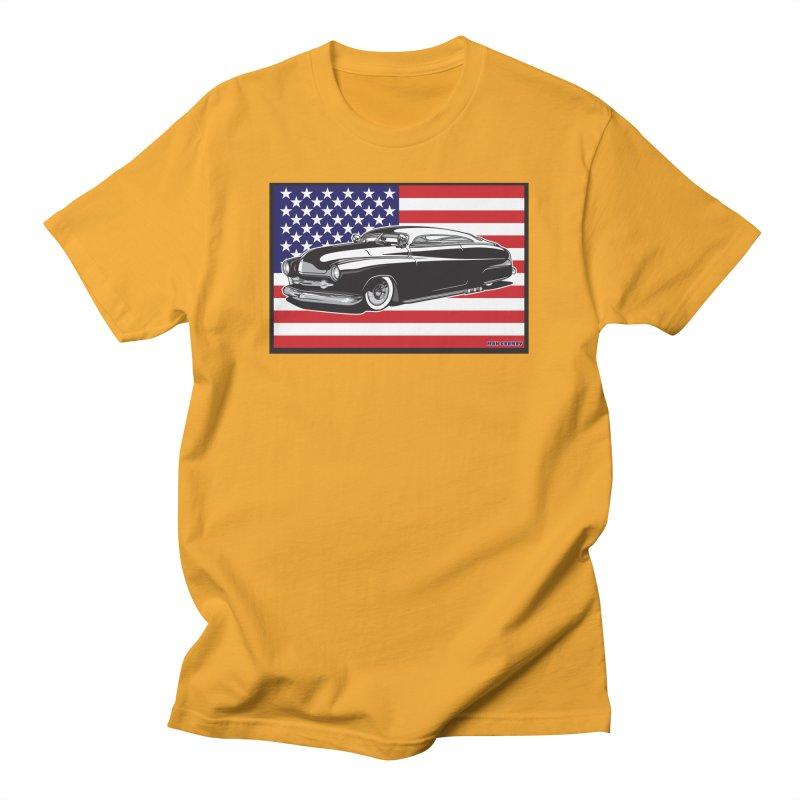 AMERICAN ORIGINAL Women's Regular Unisex T-Shirt by Max Grundy Design's Artist Shop