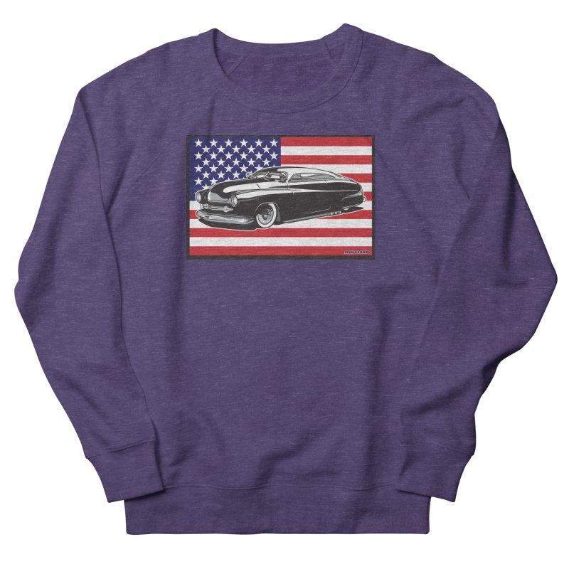 AMERICAN ORIGINAL Women's French Terry Sweatshirt by Max Grundy Design's Artist Shop