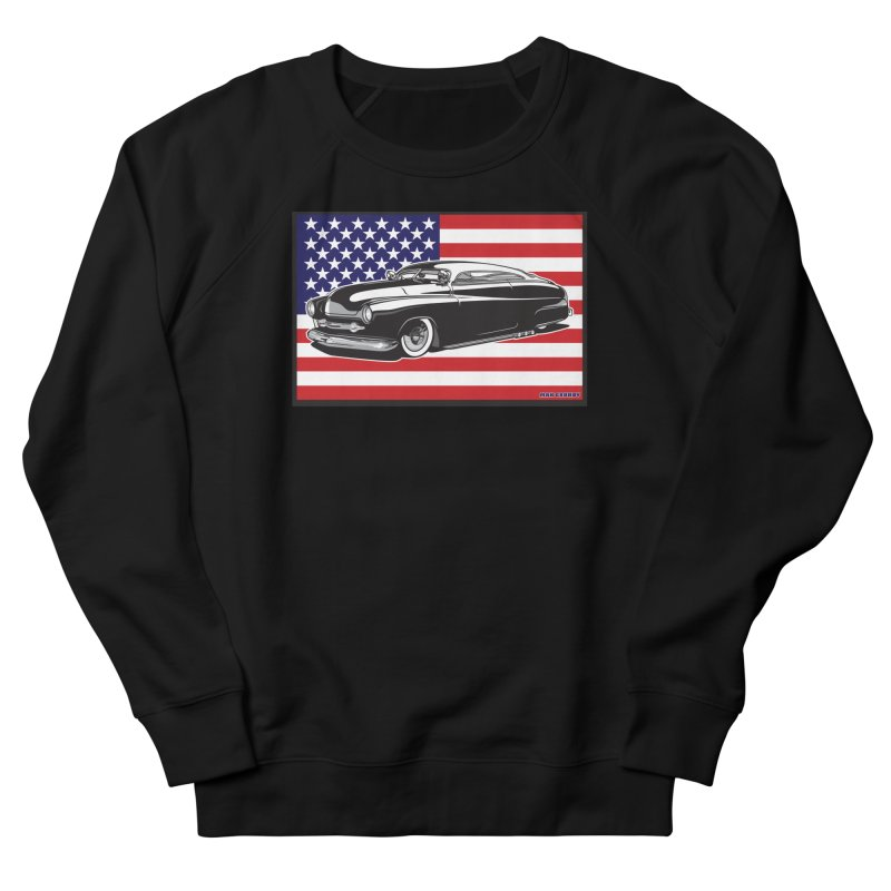 AMERICAN ORIGINAL Men's French Terry Sweatshirt by Max Grundy Design's Artist Shop