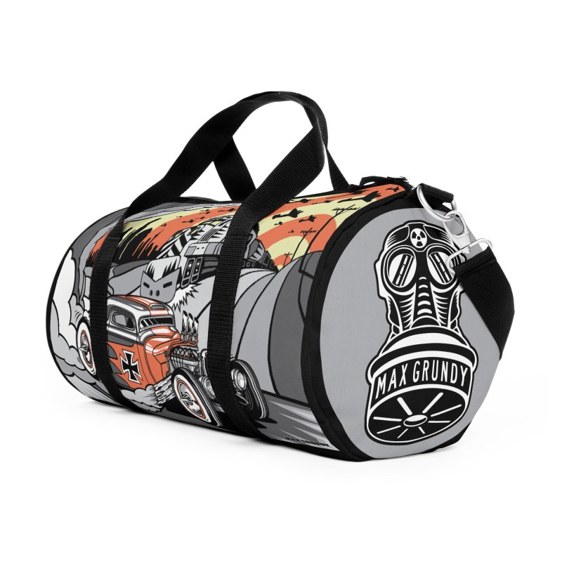 BERLIN BURNOUT Accessories Bag by Max Grundy Design's Artist Shop