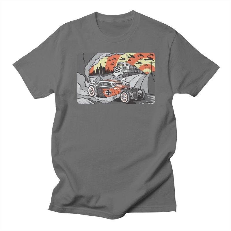 BERLIN BURNOUT Men's T-Shirt by Max Grundy Design's Artist Shop