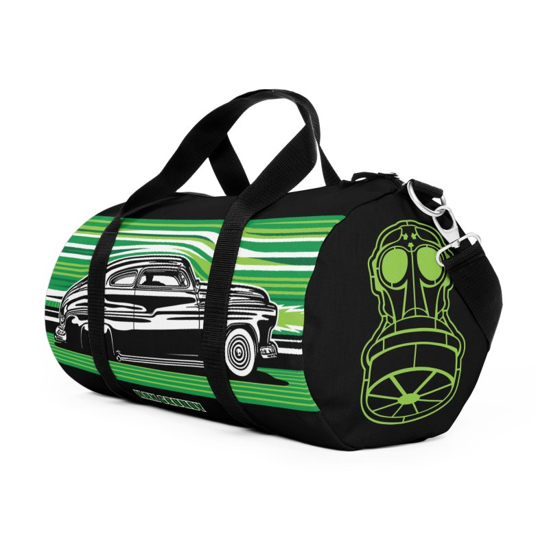 GREEN STREAMLINE 50 Accessories Bag by Max Grundy Design's Artist Shop