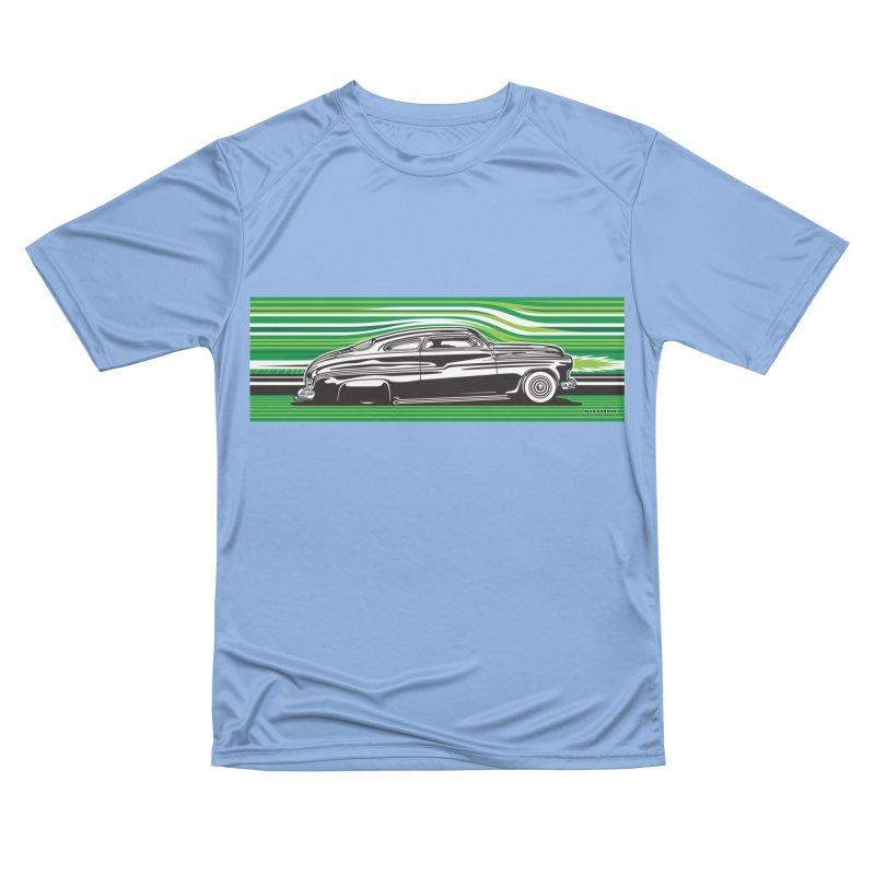 GREEN STREAMLINE 50 Men's Performance T-Shirt by Max Grundy Design's Artist Shop
