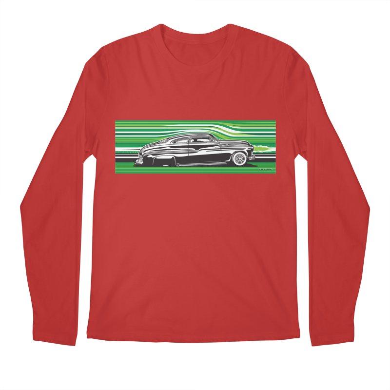 GREEN STREAMLINE 50 Men's Regular Longsleeve T-Shirt by Max Grundy Design's Artist Shop