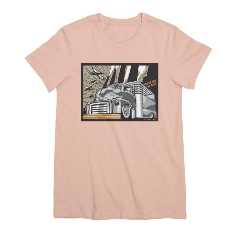 WAR PAINT Women's Premium T-Shirt by Max Grundy Design's Artist Shop