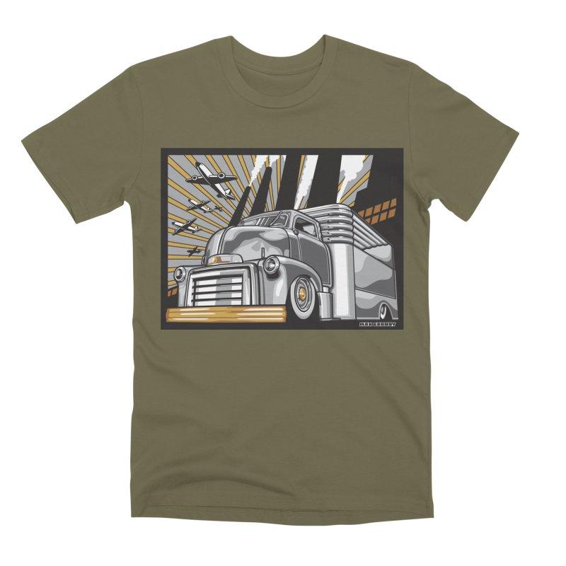 WAR PAINT Men's Premium T-Shirt by Max Grundy Design's Artist Shop