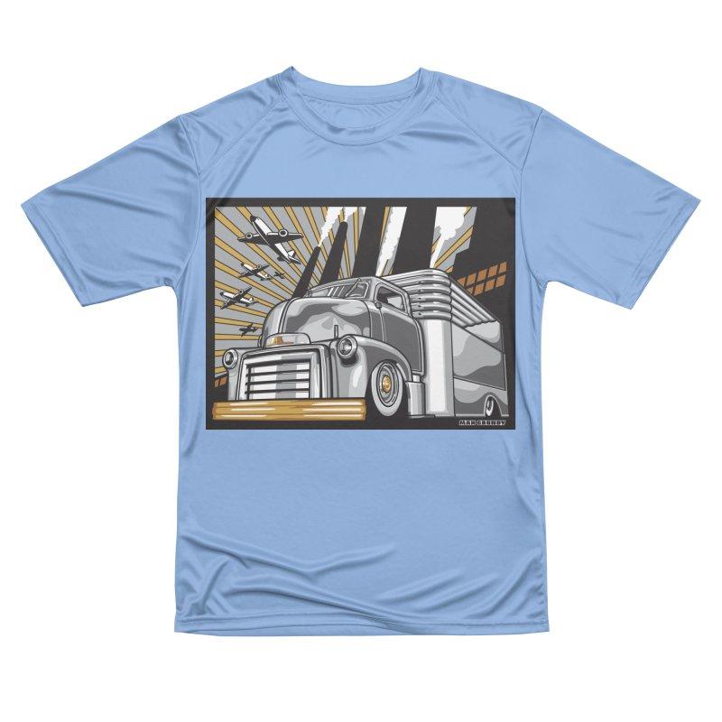 WAR PAINT Men's Performance T-Shirt by Max Grundy Design's Artist Shop